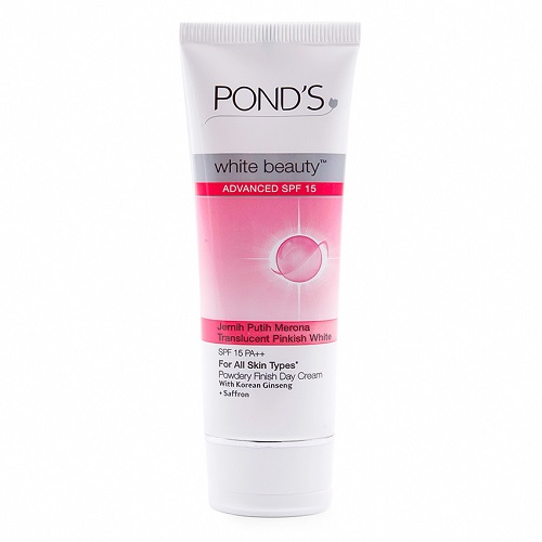 Trulum Solusi Wajah Putih Cerah Merona: Jual POND'S White Beauty Advanced SPF15 Day Cream 40g