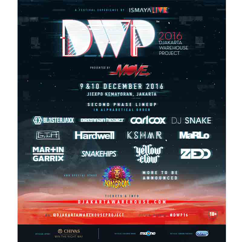 Djakarta Warehouse Project 2016 - GA Presale 2