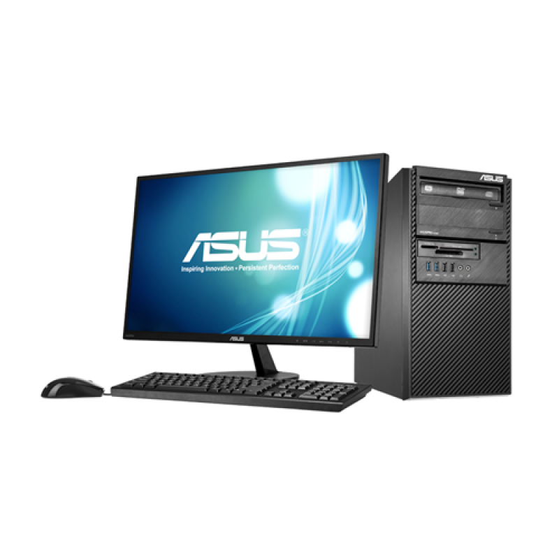"ASUS BM1AF-543F 18.5""/i3-4160/4GB/500GB/Win7 Pro Desktop - Black - 3 Yr Official Warranty"