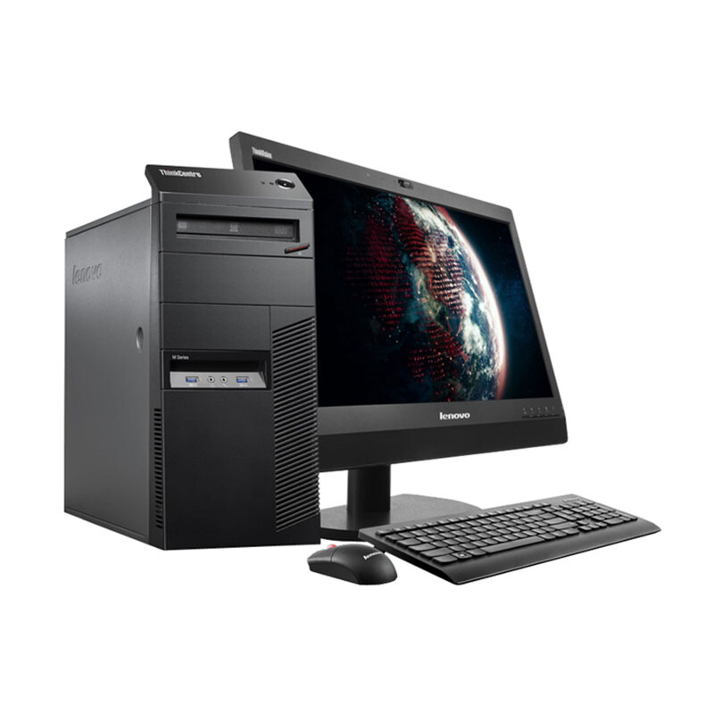 "LENOVO Desktop PC M83-10AKA064IF 18.5""/Core i5-4590/4GB/1TB/Integrated HD Graphics/Win7 Pro - Black - 3 Yr Official Warranty"