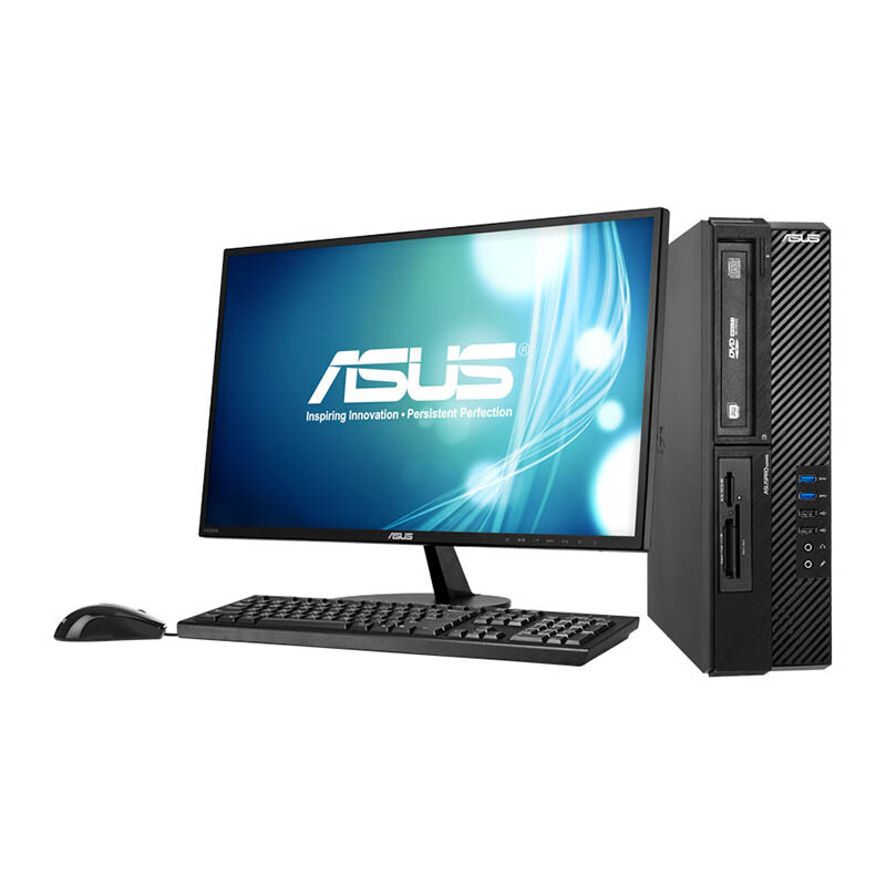 "ASUS BP1AD-621F 18.5""/i7-4790/4GB/1TB/Win7 Pro Desktop - Black - 3 Yr Official Warranty"